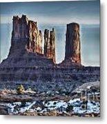 Monument Valley -utah V17 Metal Print