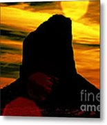 Monument Valley -utah V2 Metal Print