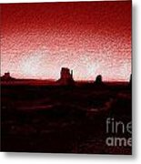Monument Valley -utah V5 Metal Print