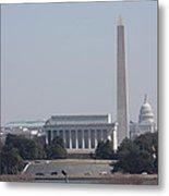 Monument View From Iwo Jima Memorial - 12121 Metal Print