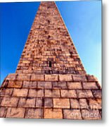 Monumental Heights Metal Print