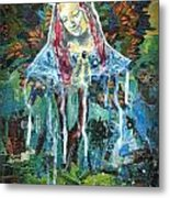 Monumental Tree Goddess Metal Print