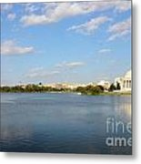 Monumental View From The River Metal Print
