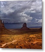 Monuments Of The West Metal Print