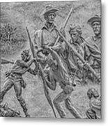 Monuments On The Gettysburg Battlefield Ver 2 Metal Print
