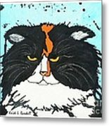 Moo Shu Cat Metal Print