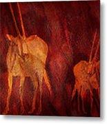 Moods Of Africa - Gazelle Metal Print