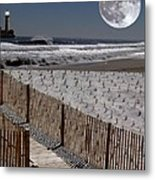 Moon Bay Metal Print