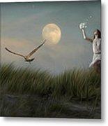 Moon Child Metal Print by Hazel Billingsley