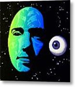 Moon Eye Bi Color Metal Print