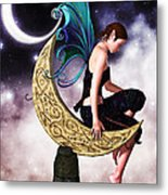 Moon Fairy Metal Print