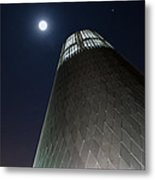 Moon Gazing From Museum Metal Print