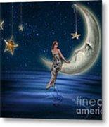 Moon Goddess Metal Print by Juli Scalzi