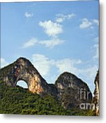 Moon Hill, Yangshuo, China Metal Print