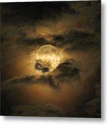 Moon In May Metal Print