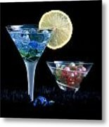 A Creative Cocktail - Moon Light Cocktail Lemon Flavour 1 Metal Print