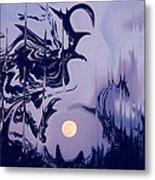 Moon Madness Metal Print