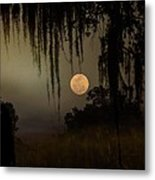 Moon Mists Metal Print