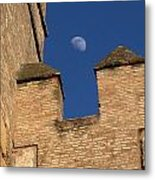 Moon Over Alcazar Metal Print
