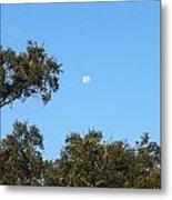 Moon Over Brandon Metal Print