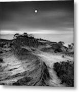 Moon Over Broken Hill Metal Print