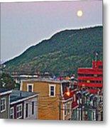 Moon Over Saint John's-nl Metal Print