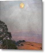 Moon Rising Metal Print