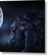'moon Struck' Metal Print
