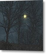 Moon Tree Metal Print