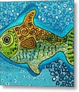 Moonfish Metal Print