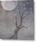 Moonlight Blossoms Gekkoka Metal Print