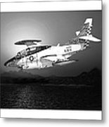 Moonlight Buckeye T 2c Training Mission Metal Print