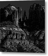 Moonlight Cathederal Metal Print