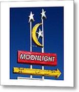 Moonlight Drive In Metal Print by Gail Lawnicki