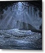 Moonlight Fantasy - Study Metal Print