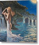 Transformed By The Moonlight Metal Print