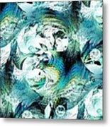 Moonlight Fish Metal Print
