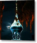 Moonlight Minaret Metal Print