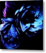 Moonlight Rose Metal Print