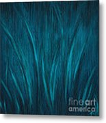 Moonlit Grass Metal Print