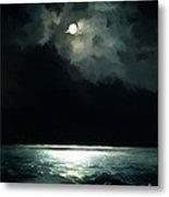 Moonlit Night Metal Print