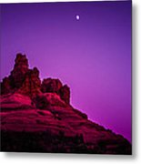 Moonrise Bell  Metal Print