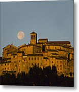 Moonrise Over Anghiarri Metal Print