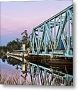 Moonrise Over Milton Metal Print by JC Findley