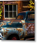Moonshine Express Metal Print