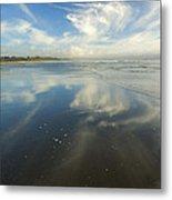 Moonstone Beach Reflections Metal Print