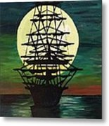 Moonstricken....lost In Thought Metal Print