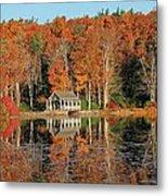 Moore State Park Autumn I Metal Print