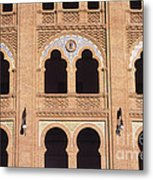 Moorish Arches Madrid Metal Print