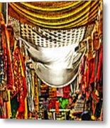 Moorish Market In Granada 2 Metal Print